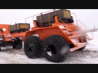 УРАЛ ПОЛЯРНИК 6Х6 (аналог КАМАЗ ПОЛЯРНИК 8Х8) - снегоболотоход, гп 2,5 т, 230 л.