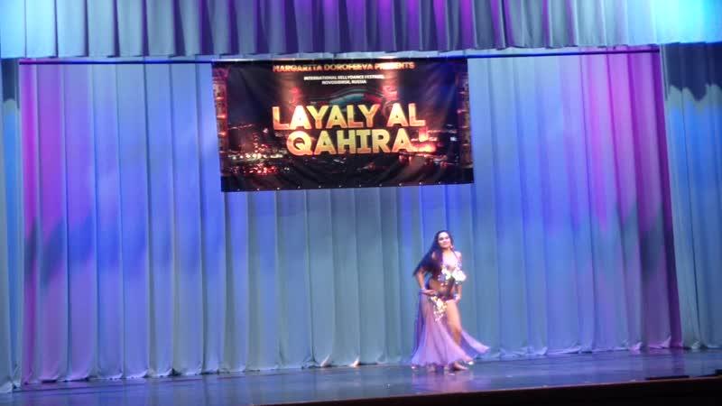 Семищенко Екатерина Табла-соло Юниоры Layaly Al Qahira 3-4 ноября г.Новосибирск 2018