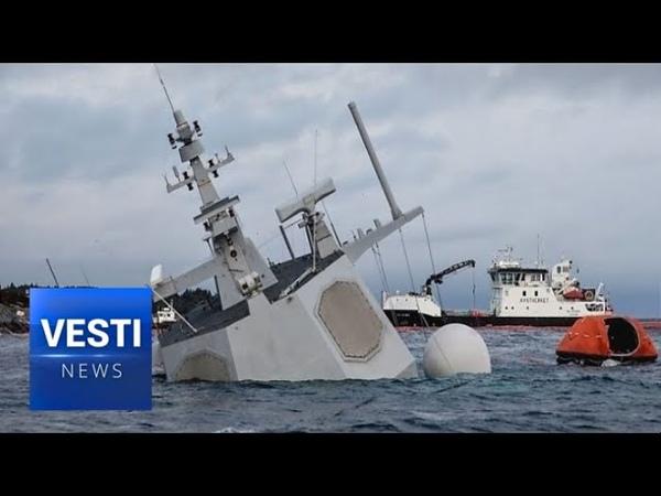 NATO Detonates Torpedos in North Sea Sunk Norwegian Frigate Provides Cover for Military Tests