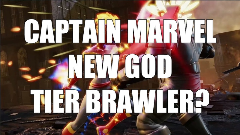 Is Captain Marvel God Tier? (Kit Breakdown) - Marvel Strike Force