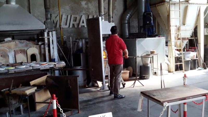 Остров Мурано. Фабрика муранского стекла.