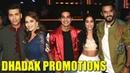 Jhanvi Kapoor, Ishaan Khattar, Shashank Khaitan Karan Promote DHADAK On Madhuri's Dance Deewane
