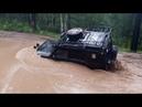 Lexus LX 470 Land Rover Discovery Jeep Grand Cherokee Pajero Танковая дорога Жесть