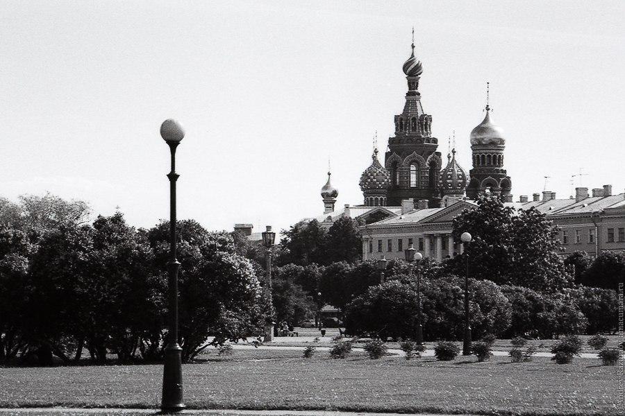 Черно белый Петербург