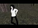 Крипипаста танец Джефа [MMD]