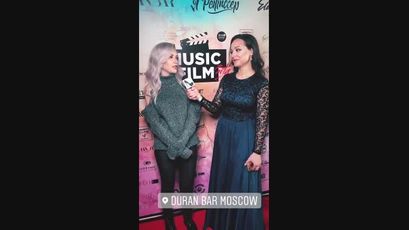 AKVA на MUSIC FILM PARTY (Duran Bar Moscow, 14.11.18)