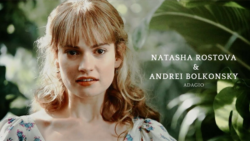 Natasha Rostova Andrei Bolkonsky [War and Peace, 2016 BBC] ♥ Наташа Ростова и Андрей Болконский [Война и Мир, 2016]