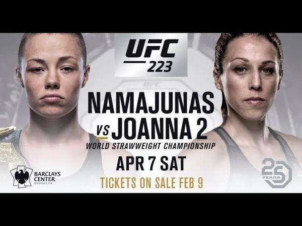 URose Namajunas vs Joanna Jedrzejczyk 2 PROMO See What I've Become