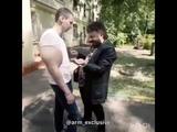 Михаил Галустян (он же Жорик Вартанов) разбирается с Кириллом Терешиным(он же руки бузуки)