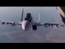 Crazy Russian Skilled Pilot Of The Sukhoi Su-30 Near Ilyushin IL-76