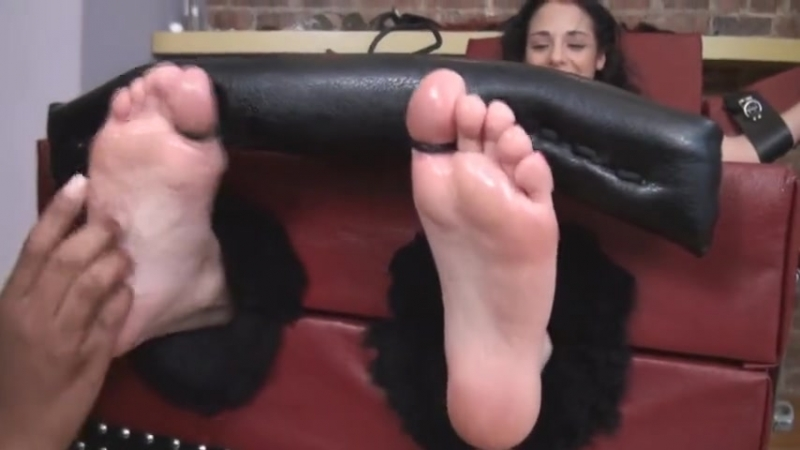 Cutie Gets Teased And Tickled