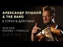 Александр Пушной The Band - Live @ ГлавClub Green Concert, Москва / 18.05.2018
