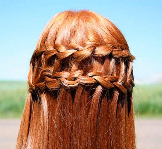 Красивые косы на длинные волосы фото - 7b483