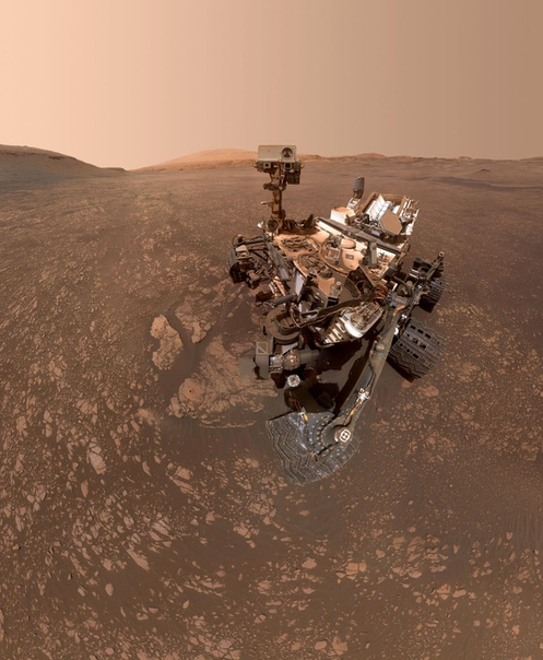 Марсоход Curiosity обнаружил на Марсе огромные залежи глины