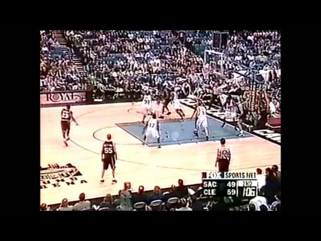 Kings@Cavaliers - Chris Webber 37pts 10rebs - Jason Williams 18pts 18asts - Shawn Kemp 21pts '00