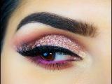 Huda Beauty Textured Rose gold eyeshadow tutorial - Sal_Qu