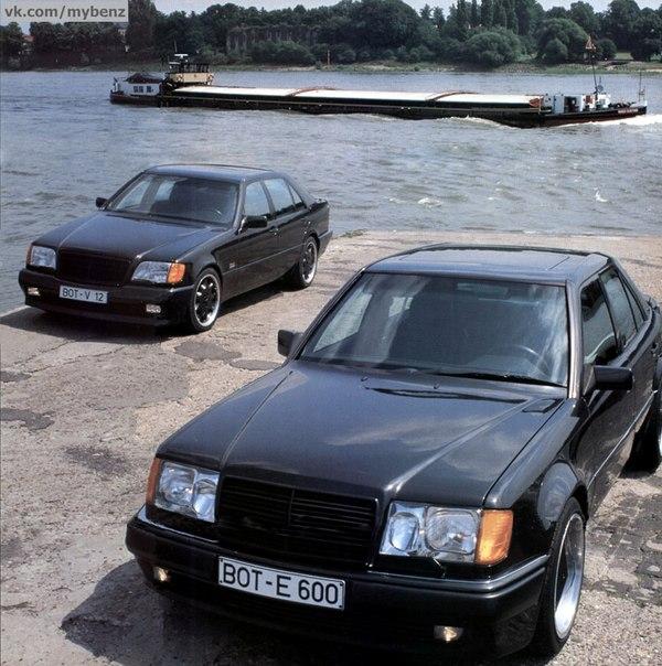 Brabus 6,0 W124 и Brabus 6,9 W140 | ВКонтакте
