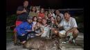 Sambar Deer Catch Clean Cook Very RARE hunt on ULTRA Remote Island Rota CNMI