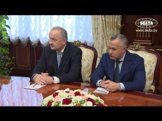 Лукашенко отмечает хороший уровень сотрудничества со Сбербанком
