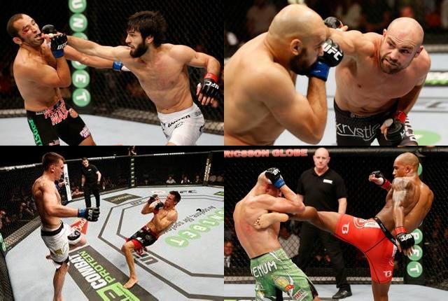 UFC Fight Night 53 Stokholm - видео всех боев