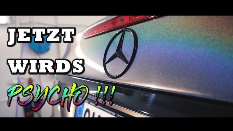 KRANK - Mercedes Benz V8 ( Carporn ) RAINBOW - PSYCHEDELIC 3M | Folienprinz