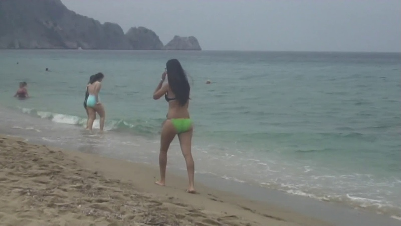 Турция Аланья Пляж Клеопатры - 32 Turkey Alanya Cleopatra beach Kleopatra Plajı playa 海滩