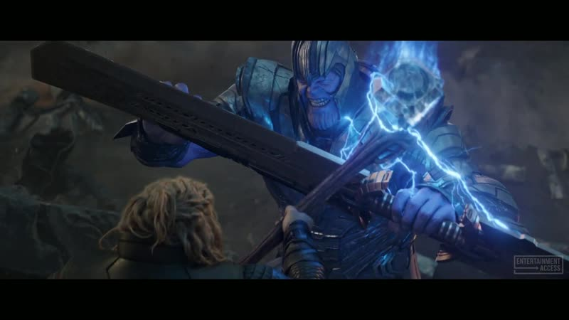 Cap Grabs Thors Hammer 1080p Avengers 4 Endgame