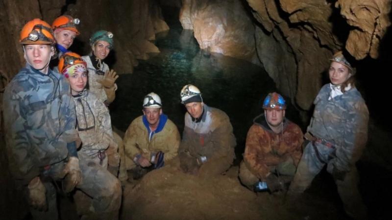 пещера Ящик Пандоры к подземным озёрам