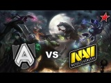 Alliance vs NaVi Starladder Lan Finals Dota 2