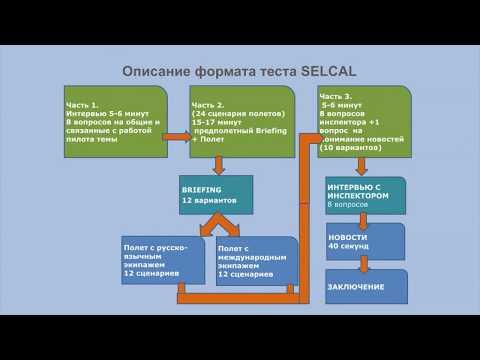 SELCAL ICAO TEST DESCRIPTION (DEMO)