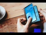 SAMSUNG FLEXIBLE OLED DISPLAY PHONE OFFICIAL PROMO COMMERCIAL VIDEO HD CES 2013
