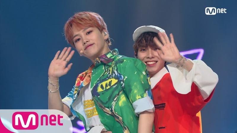 [Perf] WOO JIN YOUNG, KIM HYUN SOO – Falling in love @ Mnet M!Countdown 180621 EP.575