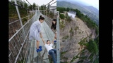 Worlds Longest Glass Bridge, 590ft High, Opens In China Tourists Too Scared To Walk It