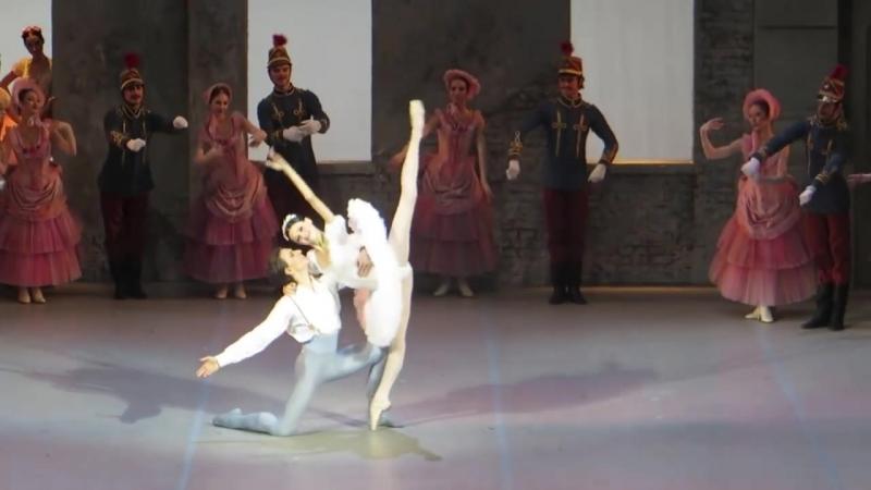 2013-11-01 Coppelia (Petit), Sergei Polunin (Franz), Kristina Shapran (Swanilda), Stanislavsky (1)