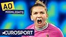 Simona Halep vs Kaia Kanepi Highlights Australian Open 2019 Round 1 Eurosport
