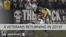 Oakland Raiders Rumors: Jordy Nelson, Tahir Whitehead, Daryl Worley, & Lee Smith Returning In 2019?