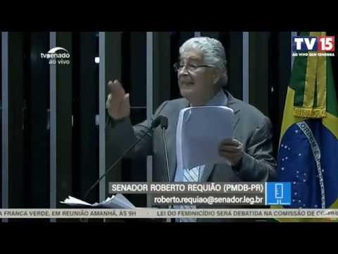 Roberto Requião cobra nossas forças armadas a defender nossas riquezas
