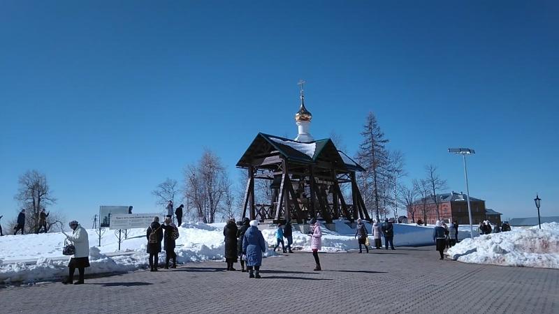 колокольный звон в белогорском монастыре 2018