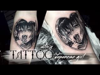 Tattoo story japanese girl