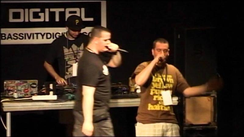 Ill G i Phille P - Uživo - Bassivity Showcase
