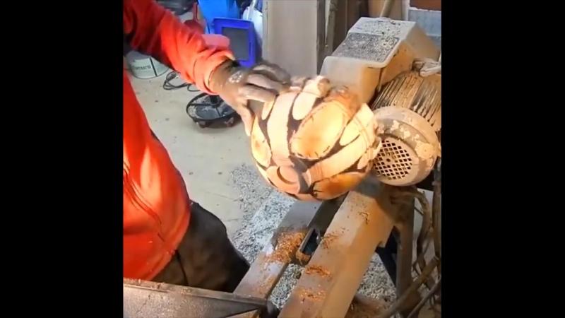 Как сделать из кусков дерева прикольную и полезную фигню