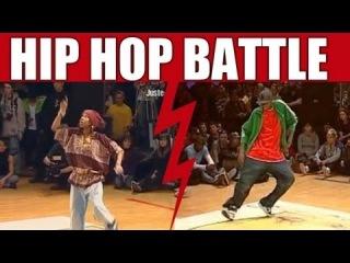 Hip Hop Dance Battle : Dy & Aminata VS U-Gin & Driss [ SEMI-FINAL ]