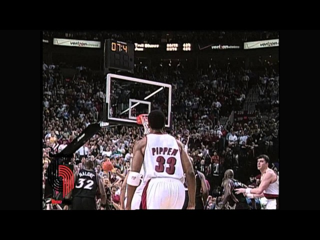 Pippen's Game-Winner from Distance in the 2000 NBA Playoffs