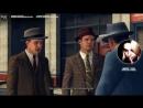 """Алина слушает песню """"Не Вешать Нос Гадемарины"""" и играет в L.A.Noire. 06.05.2018."""