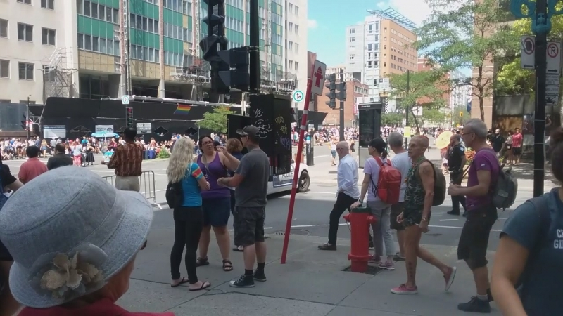 Gay Pride Aug 19 HSS City.. Police Intervention Attempt 1