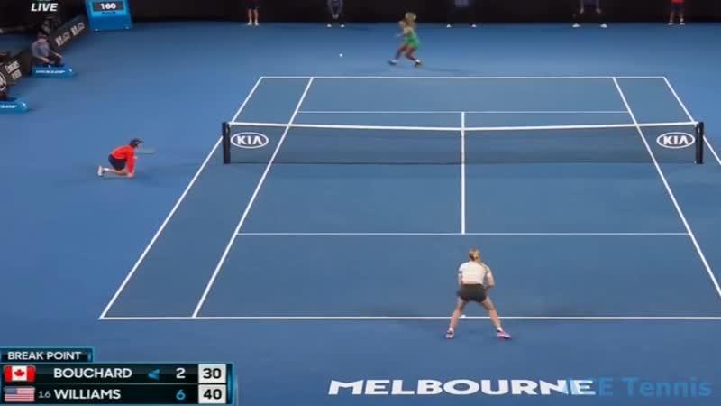 Serena Williams vs Eugenie Bouchard