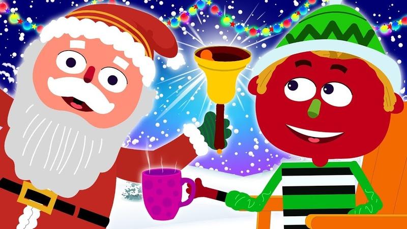 Christmas Songs For Kids | It's Christmas Time! Santa's On His Way | Jingle Bells With Len and Mini
