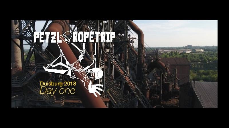 Petzl RopeTrip 2018 Duisburg Day 1