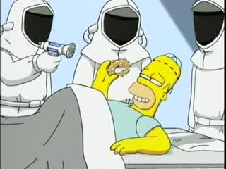 Гомер Симпсон с процессором Pentium II вместо мозга