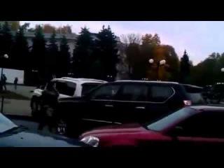 ДТП Авария  Девушка Лексусе вьехала в ЛЕКСУС!!!